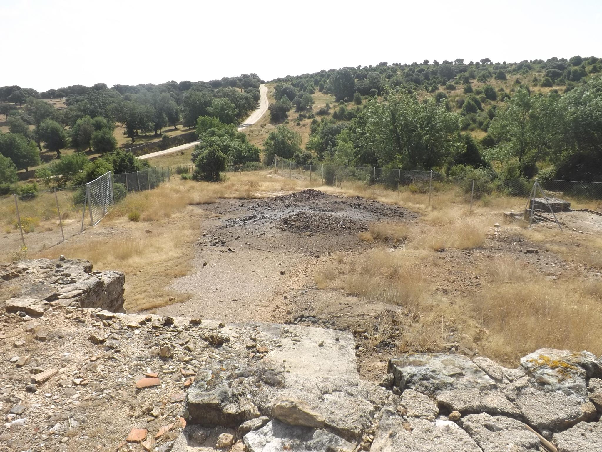Mina arsenico Sierra de Madrid