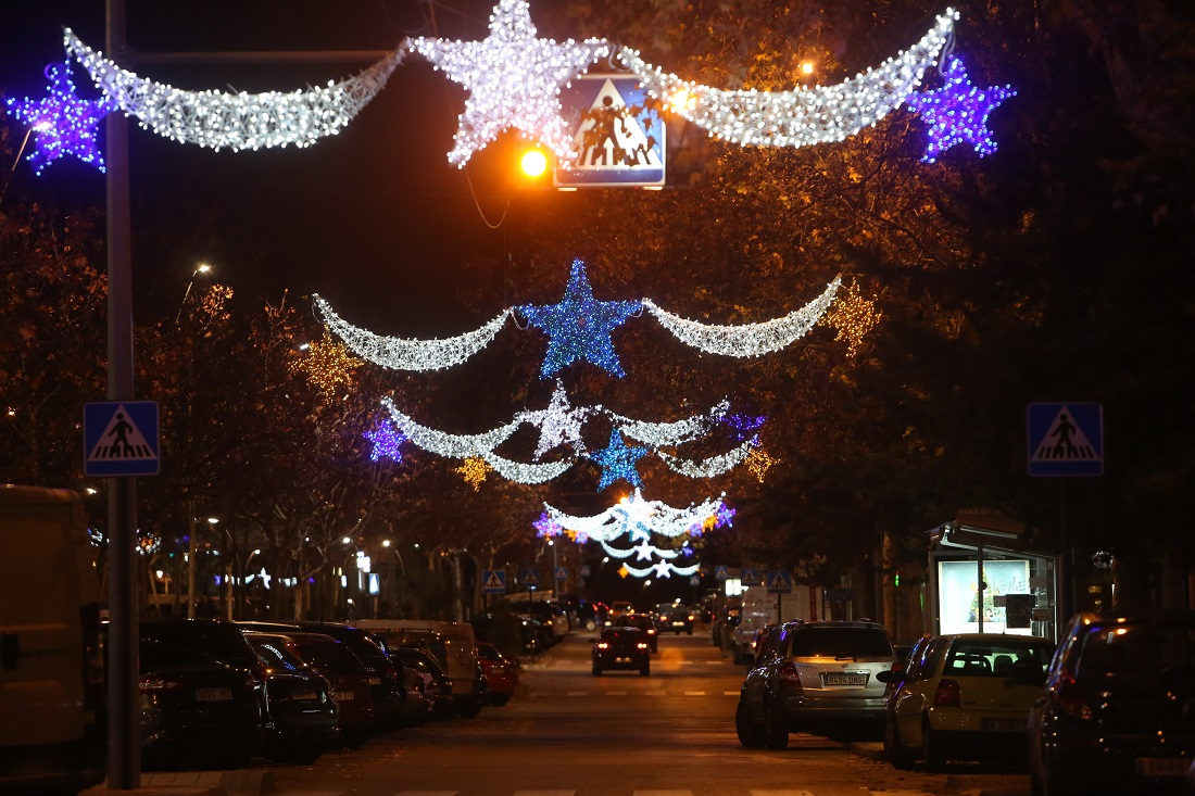 Luces de Navidad Tres CAntos