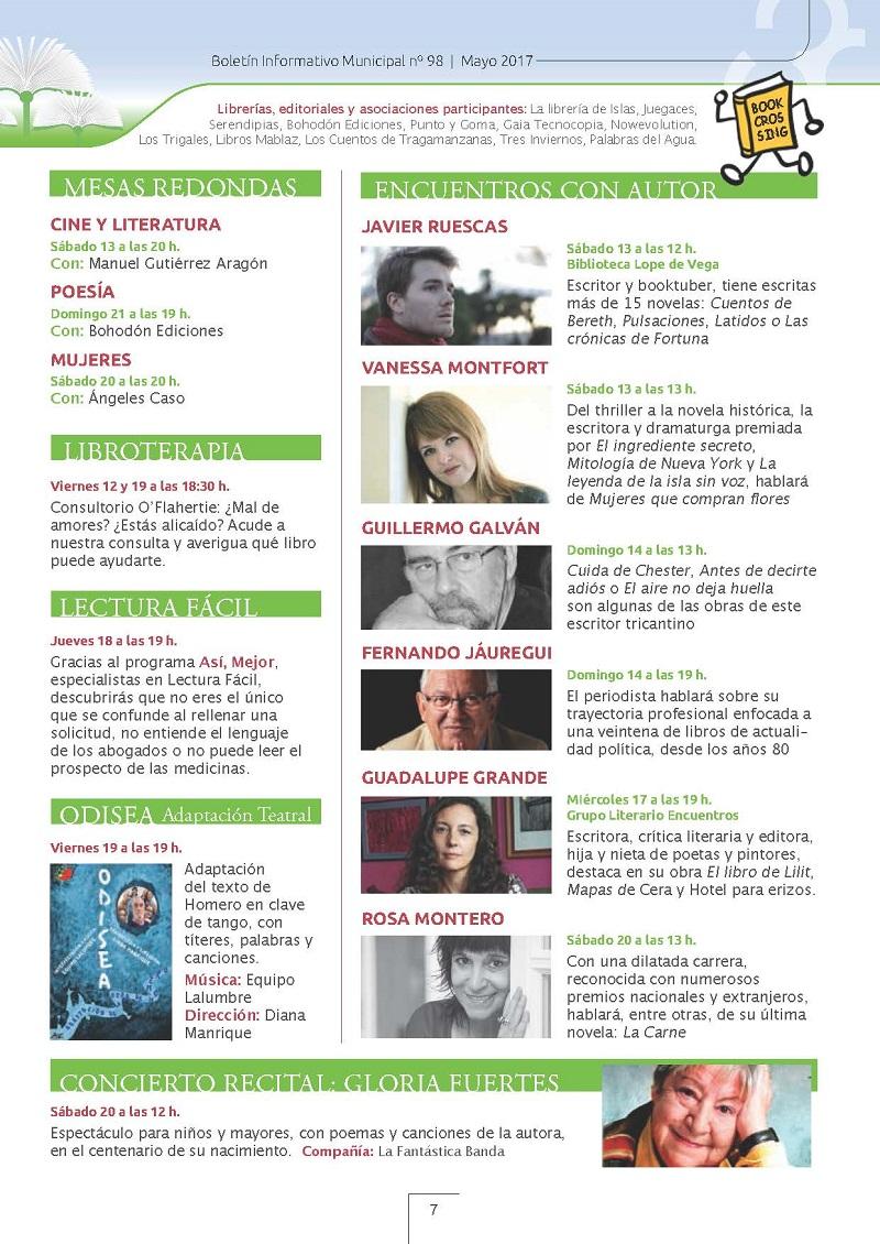 Feria del Libro en Tres Cantos 2017