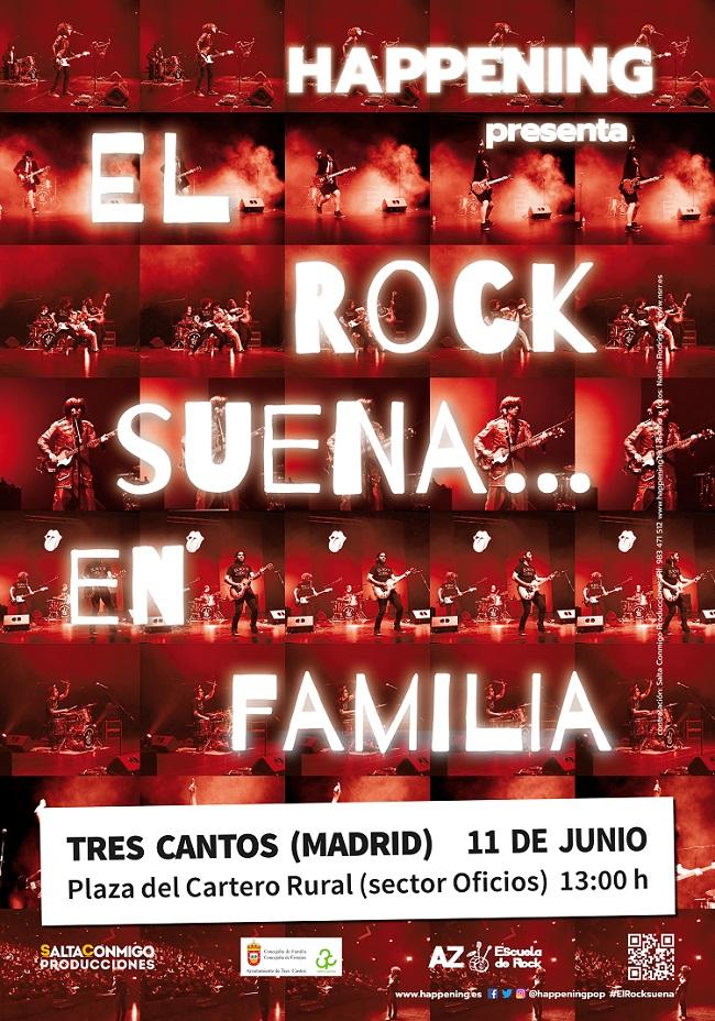 Rock en familia en Tres Cantos