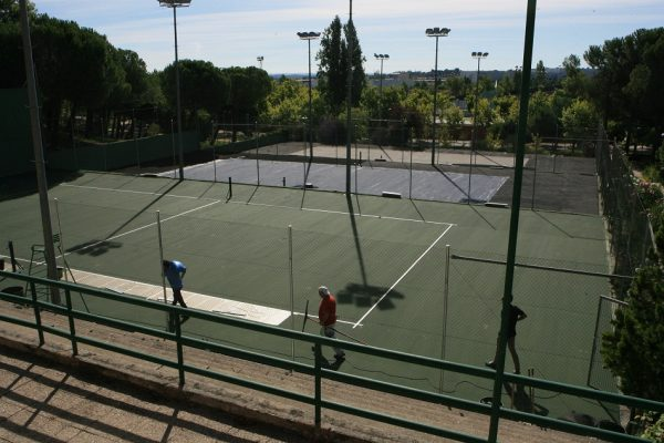 Rehabilitación pistas de tenis de Foresta en Tres Cantos