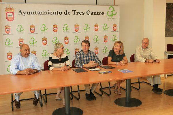 Firma convenio pueblo saharaui Tres Cantos
