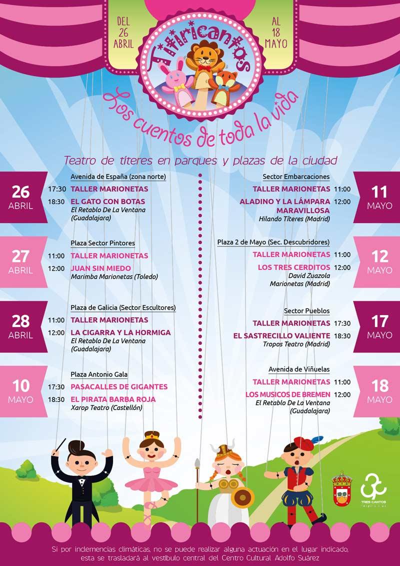 Festival Titiricantos en Tres Cantos