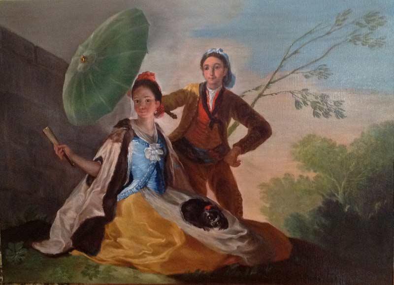 Copistas del Prado