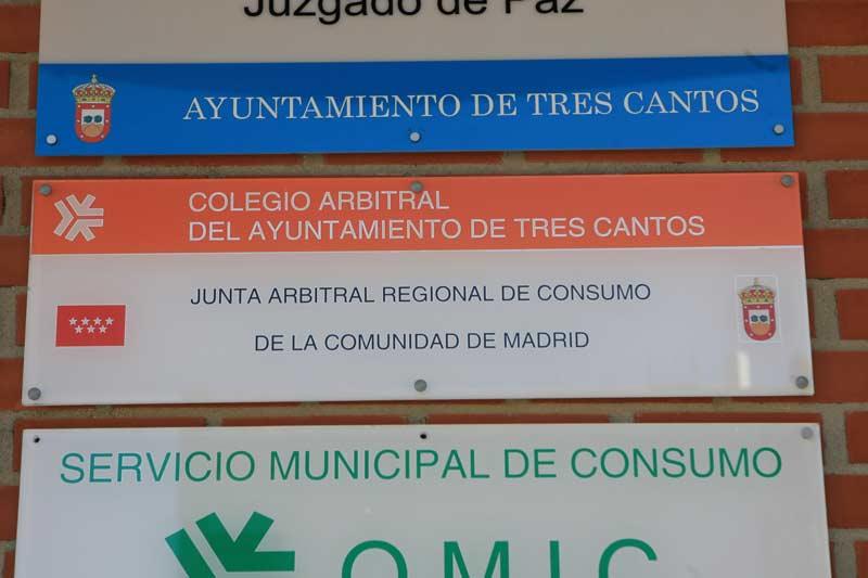 Área Consumo Ayuntamiento Tres Cantos