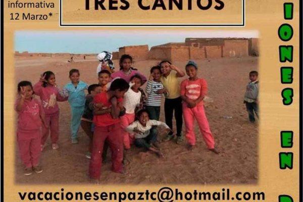 Vacaciones en Paz 2019 en Tres Cantos
