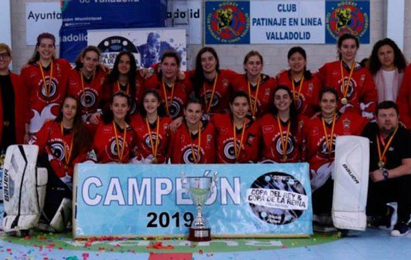 Las chicas del Kamikazes campeonas de la Copa de la Reina