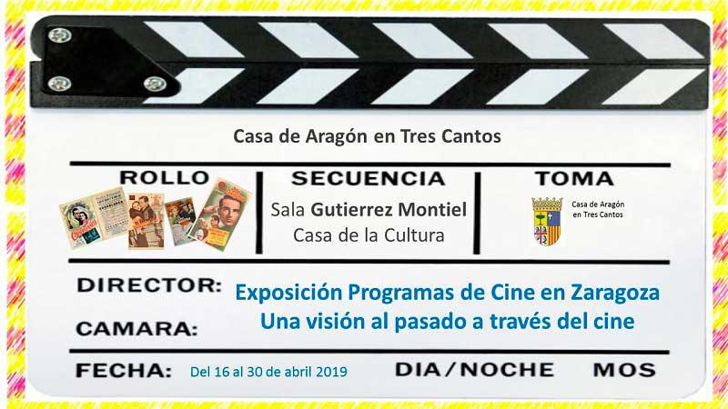Exposición: Programas de cine en Zaragoza