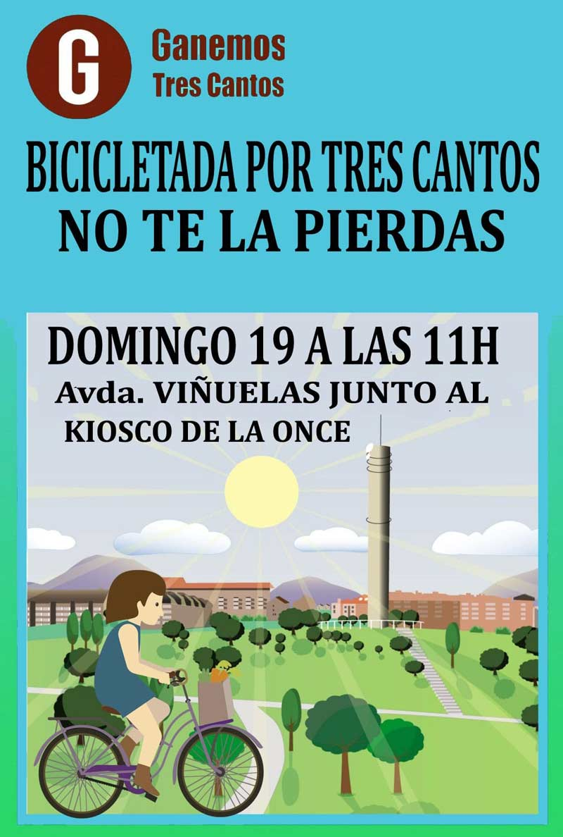 Bicicletada por Tres Cantos
