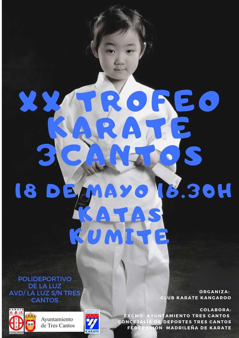 XX Trofeo de Karate Ciudad de Tres Cantos