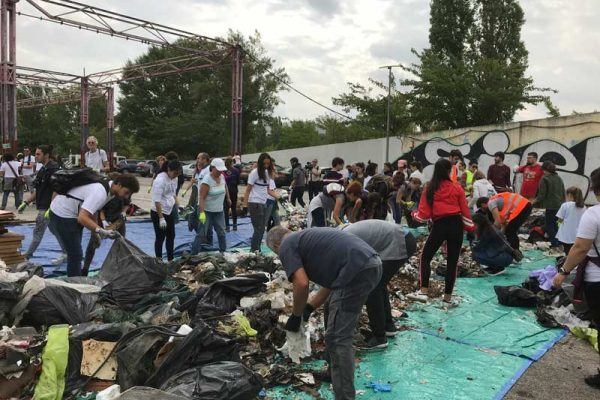 World Cleanup Day en Tres Cantos