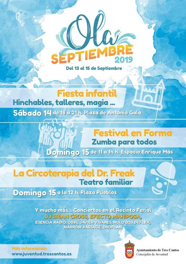 Festival Olá Septiembre en Tres Cantos