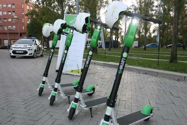 Servicio patinete eléctrico en Tres Cantos