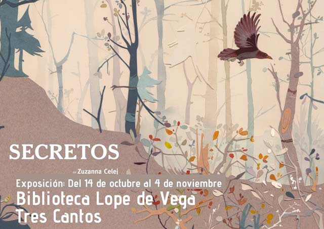 Exposición 'Secretos' Biblioteca Lope de Vega de Tres Cantos