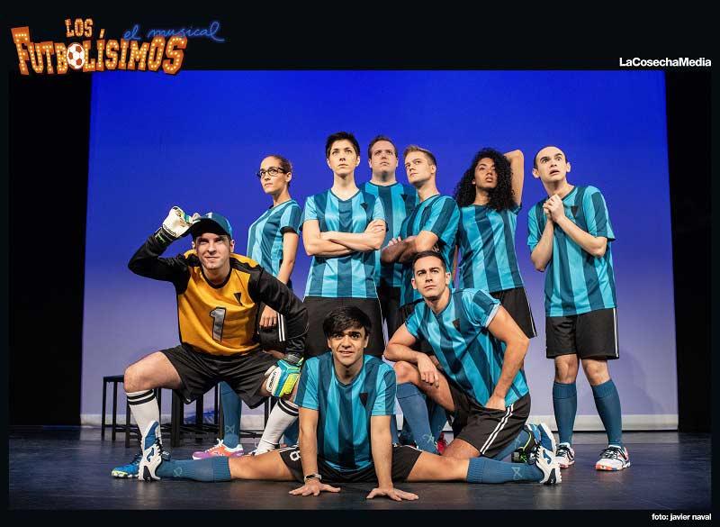 Espectáculo familiar: Los futbolísimos, el musical