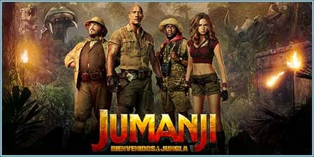 Cine joven: Jumanji, bienvenido a la jungla