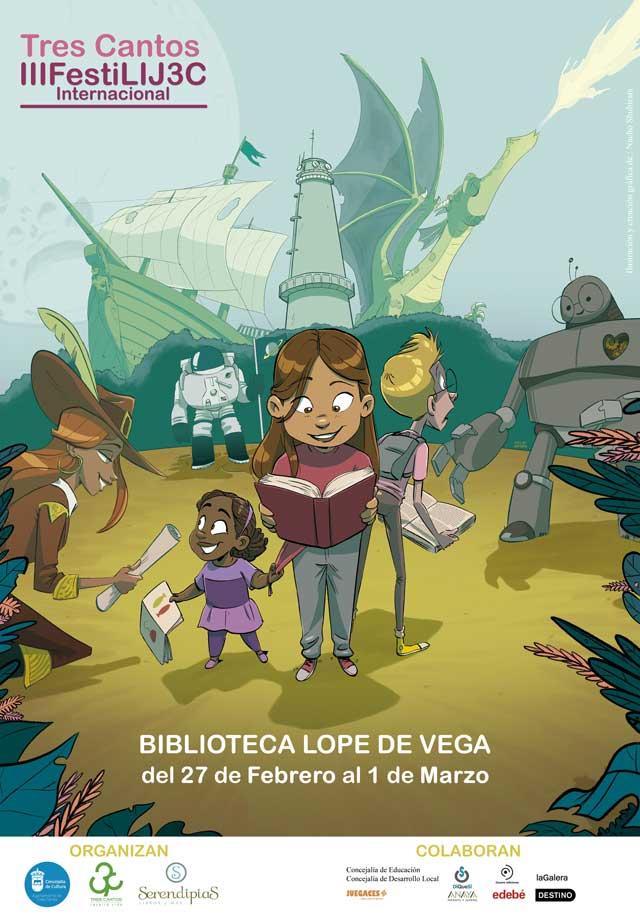 III Festival Internacional de Literatura Infantil y Juvenil FestiLIJ Tres Cantos