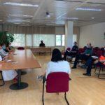 Reunión Equipo Seguimiento COVID-19 Ayuntamiento de Tres Cantos