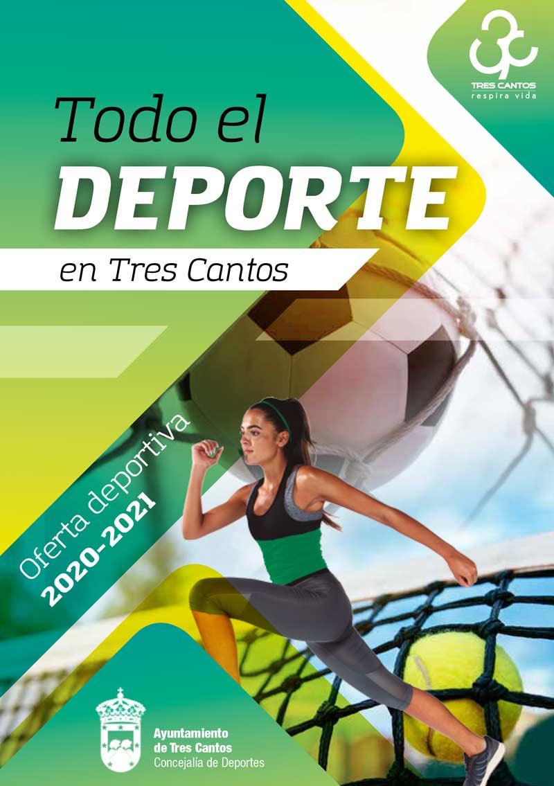 Oferta deportiva temporada 2020-2021 en Tres Cantos