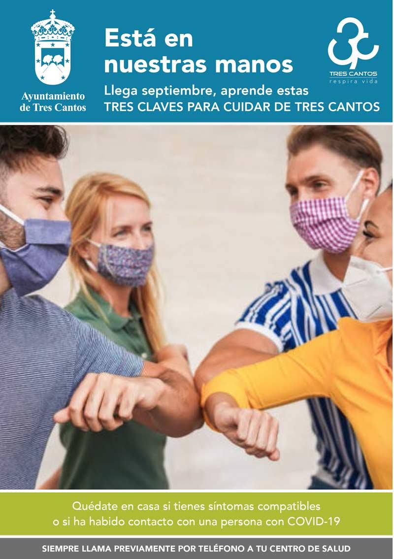 Campaña de concienciación ciudadana en Tres Cantos