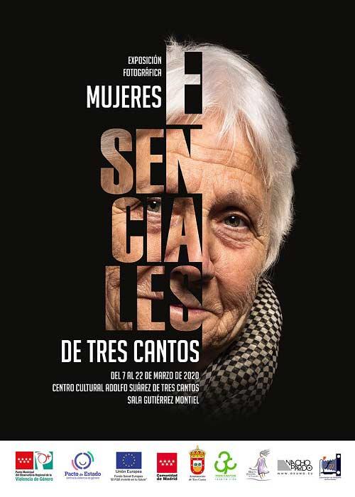 Exposición fotográfica: Mujeres Esenciales de Tres Cantos