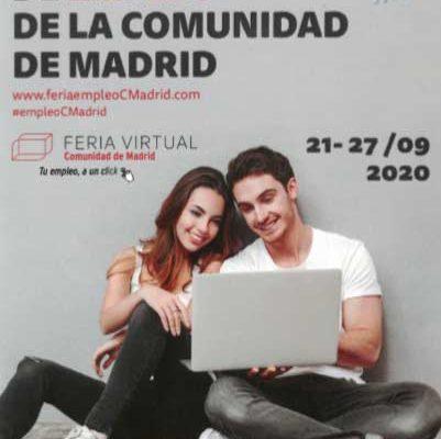 Tres Cantos participa en la Feria Virtual de Empleo de la Comunidad de Madrid