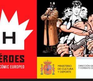 Exposición: Héroes del cómic europeo