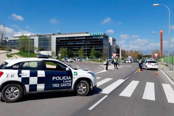 Vigilancia y control de las restricciones de movilidad