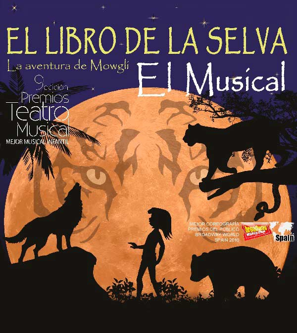 Espectáculo familiar: El libro de la selva. La aventura del Mowgli. El musical