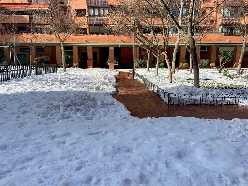 Limpieza Nieve