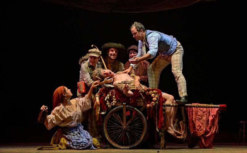 Teatro: Divinas palabras (Valle-Inclán)
