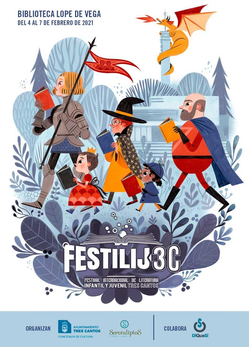 Se presenta el IV FestiLIJ3C de literatura infantil y juvenil ++