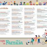 Programación mes de las familias en Tres Cantos