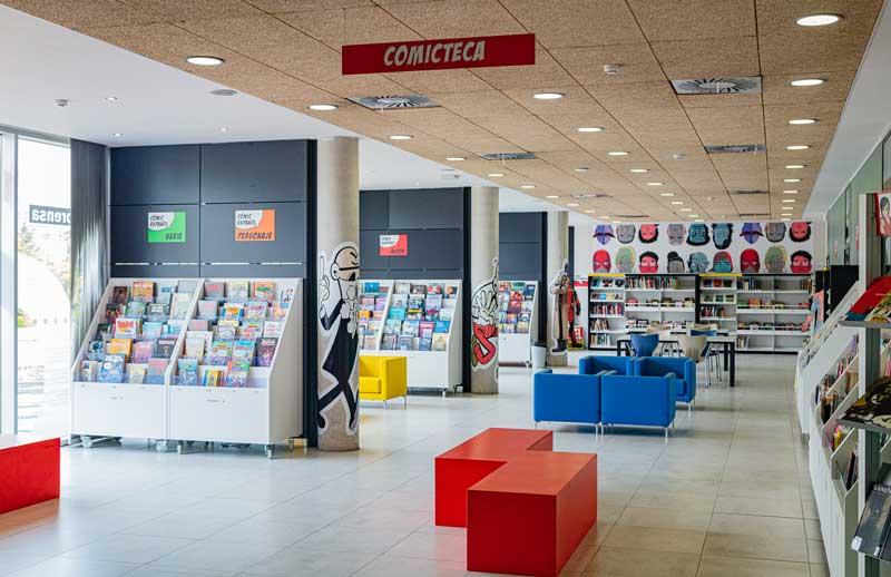 Comicteca en la Biblioteca Municipal Lope de Vega de Tres Cantos