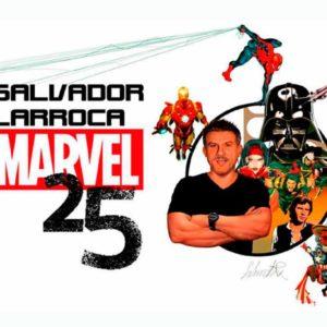 Exposición bibliográfica: Salvador Larroca. 25 años en Marvel
