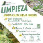 Limpieza bosque ribera Arroyo Valdecarrizo