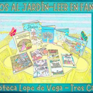 Libros al jardín: Leer en familia