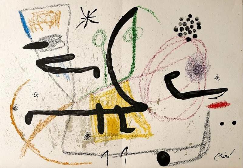Exposición: Picasso, Miró, Dalí, los grandes maestros españoles del siglo XX. Obra gráfica
