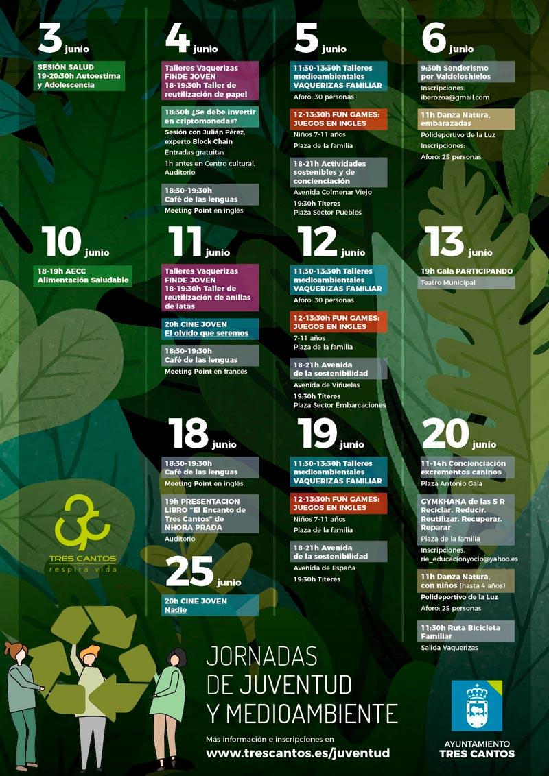 Jornadas de Juventud y Medioambiente de Tres Cantos