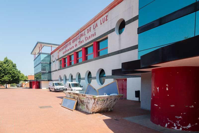 Reforma instalaciones deportivas en Tres Cantos