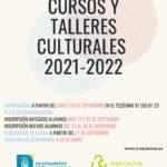 Oferta cursos y talleres culturales 2021-2022 en Tres Cantos